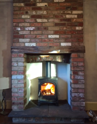 Esse 500, multifuel stove, fireplace, bristol stove installer
